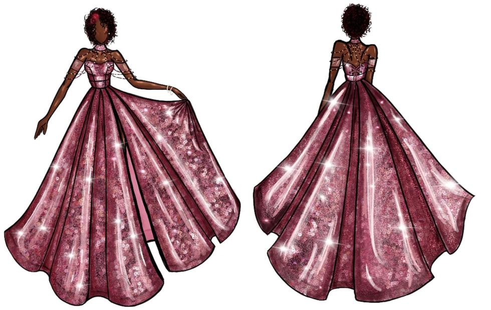 Jillian Dress design
