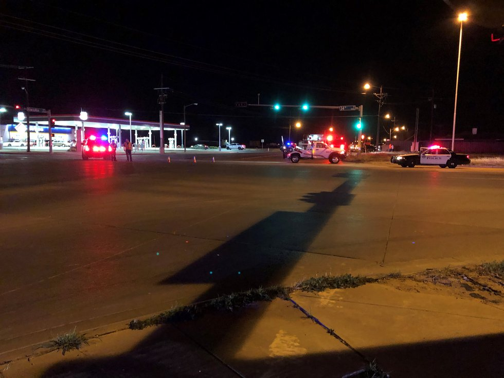 Lubbock police are on the scene of two accidents at 34th & Milwaukee.