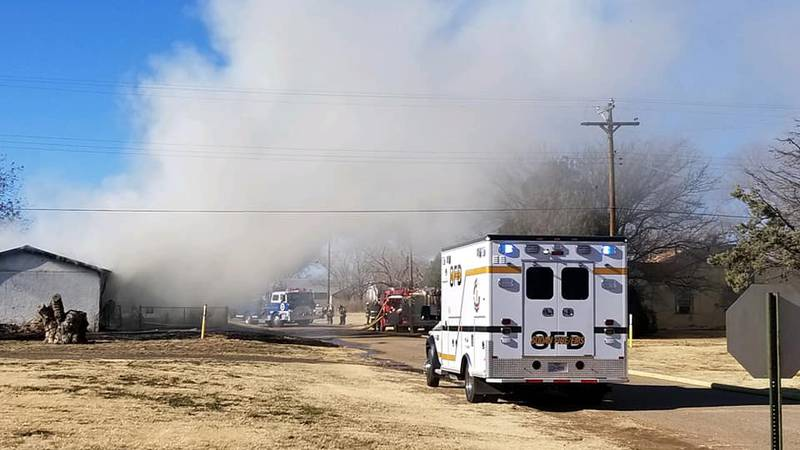The Amherst Fire Department responded to a structure fire at 5th and Henderson on Saturday,...
