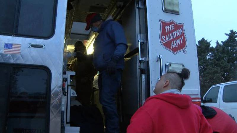 With record cold expected in Lubbock, the Salvation Army is working to provide food and warmth...