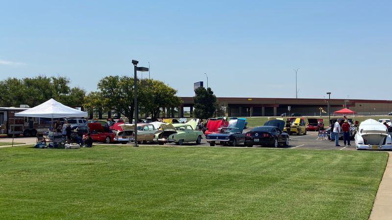 The Lubbock Mustang Club held their annual show at Wayland Baptist University on North Quaker...