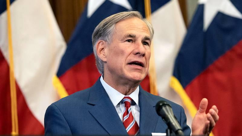 File Photo: Texas Governor Greg Abbott