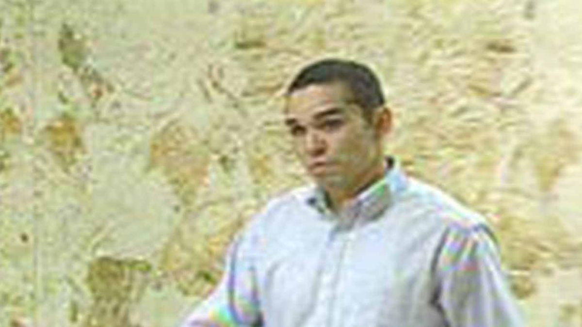 Joe Franco Garza, Jr. at Lubbock County Courthouse, March 2006