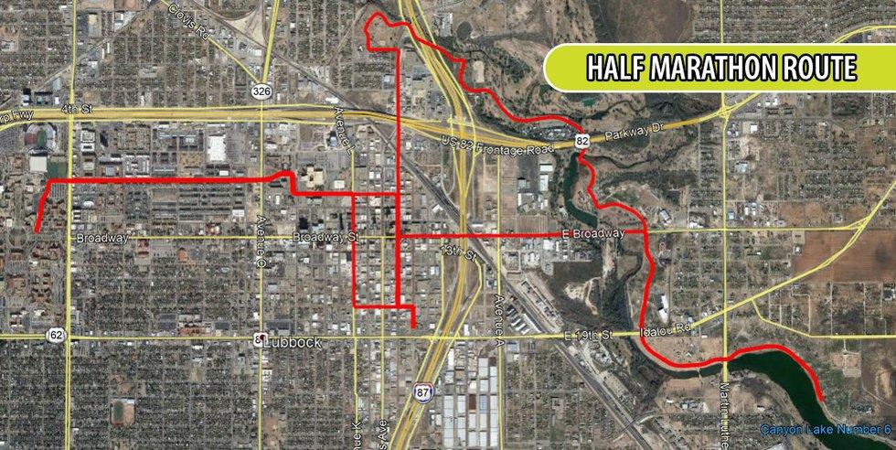 Mayor's Marathon Routes 2021
