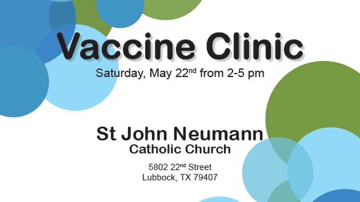 The City of Lubbock Public Health Department is teaming up with the YWCA and St. John Neumann...
