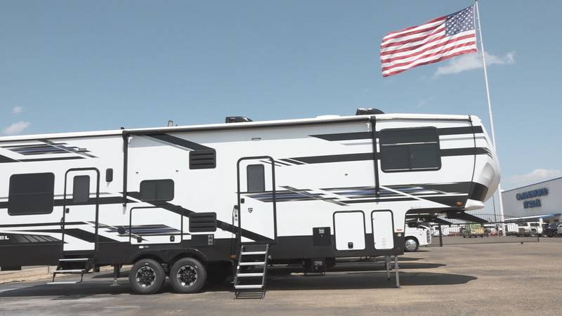 Lubbock is following a national boom in RV sales, with many consumers venturing into the arena...