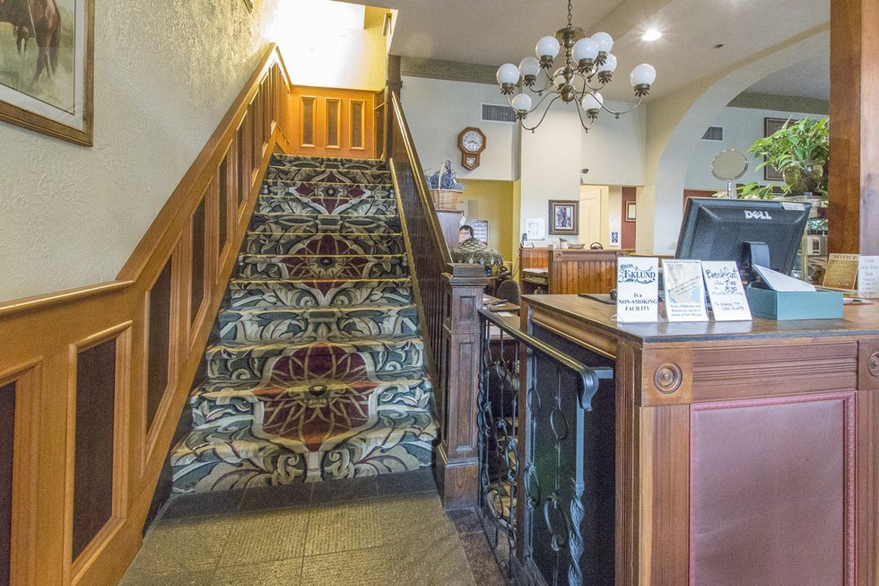 Hotel Eklund in Clayton, New Mexico is said to be haunted by the ghost of a maid named Irene...