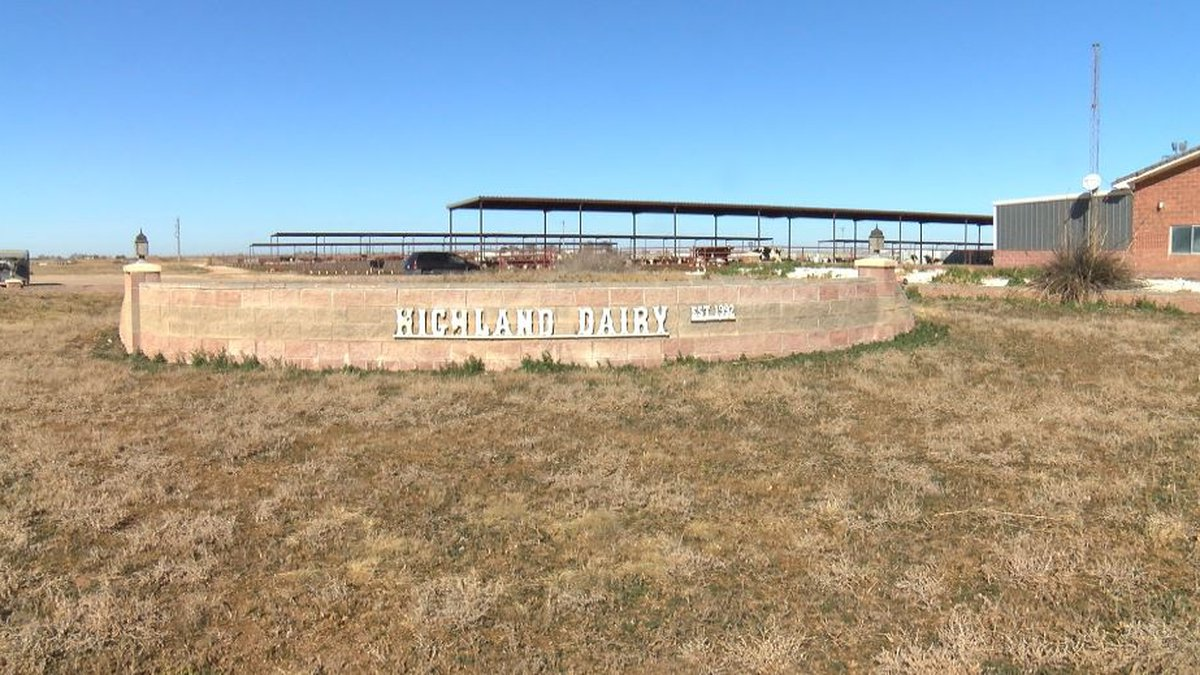 Highland Dairy in Clovis, New Mexico shuts down due to water contamination. (Source: KCBD)