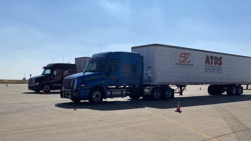 Warnick and his team at SPC's professional truck driving school are doing what they can to get...