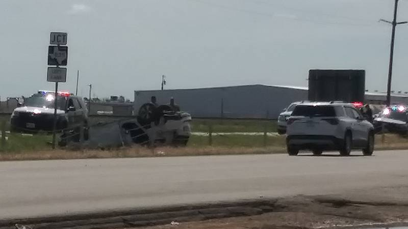 One was taken to the hospital after a rollover on Hwy 84 on June 4, 2021.
