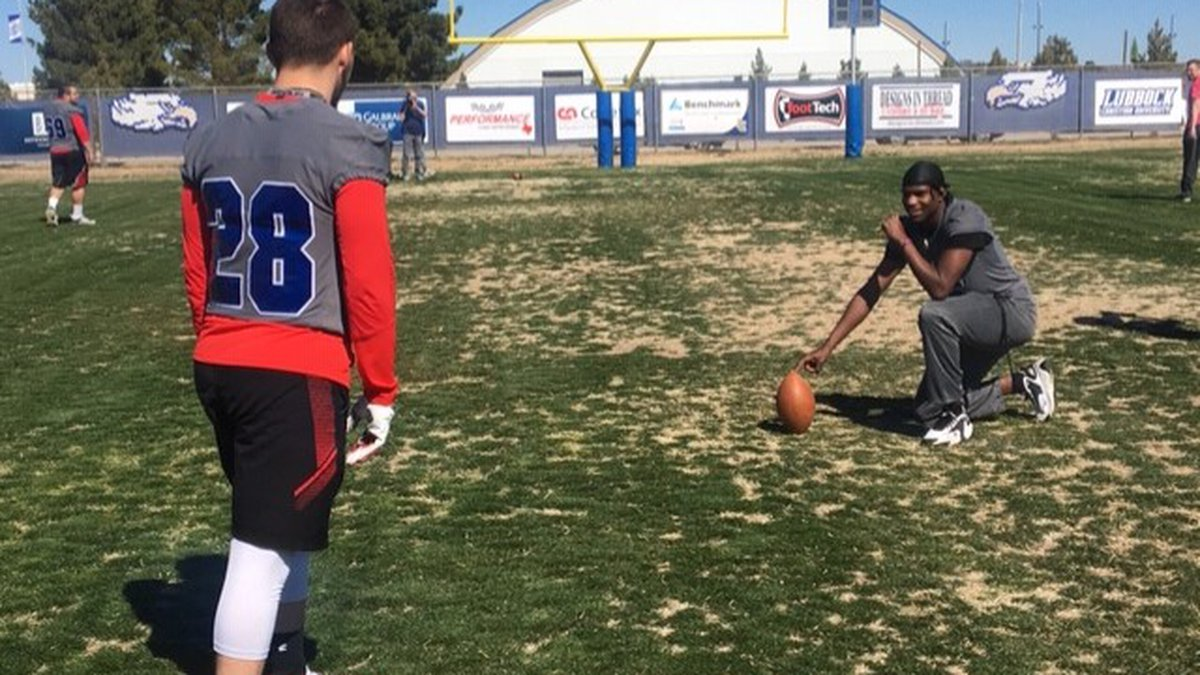 I Beat Pete: Punt, pass and kick against Lubbock Liberty Eagles