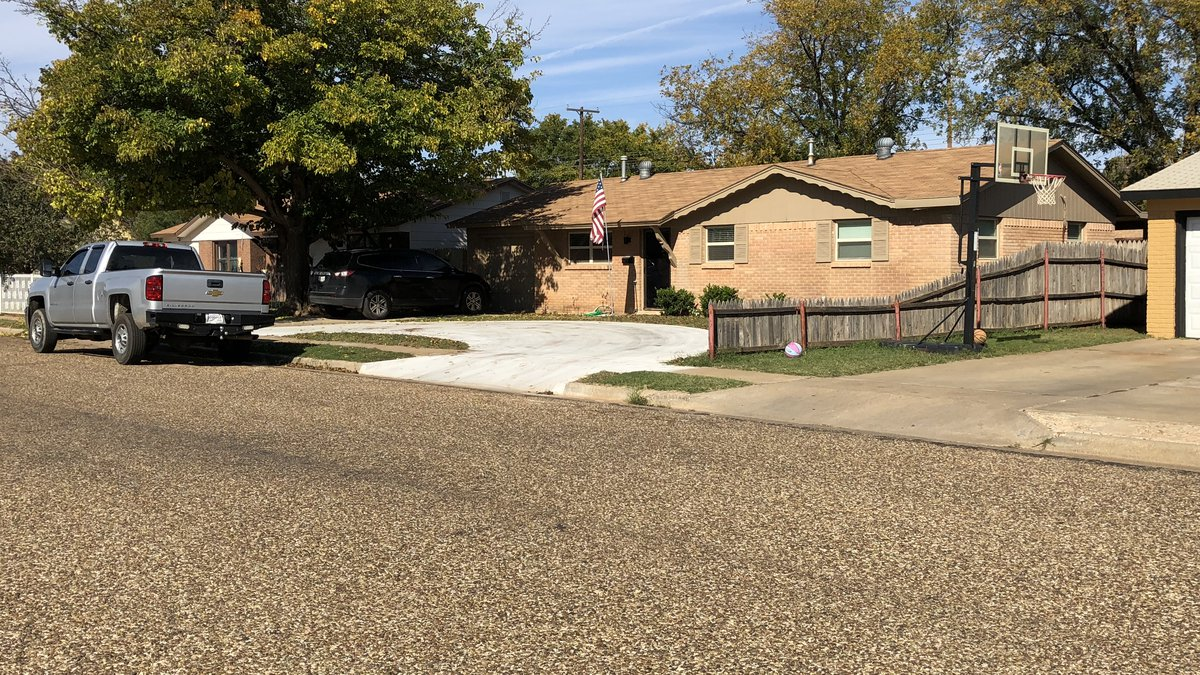 A bone was found in the backyard of a home in the 1900 block of 70th Street.