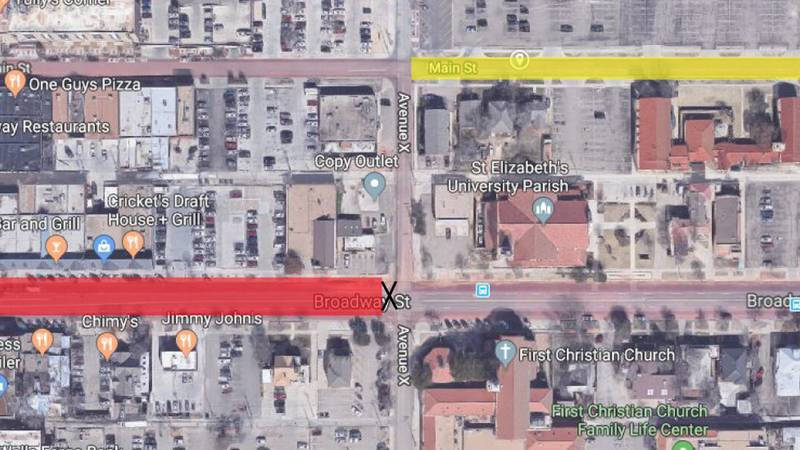 Broadway will be closed to traffic between University Avenue and Avenue X from 8:30 P.M. to...
