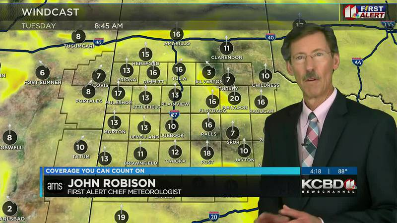 KCBD Weather at 4 for Monday, Oct. 25