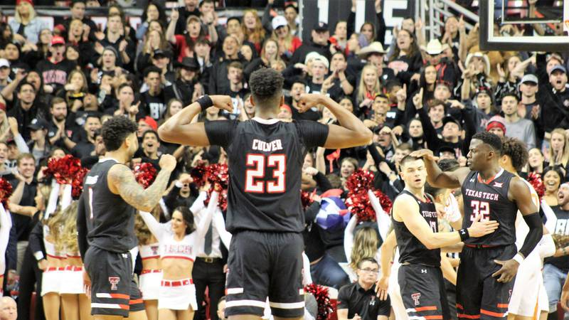 Devin Ward's photos of Jarrett Culver as a member of the Texas Tech Red Raiders basketball...