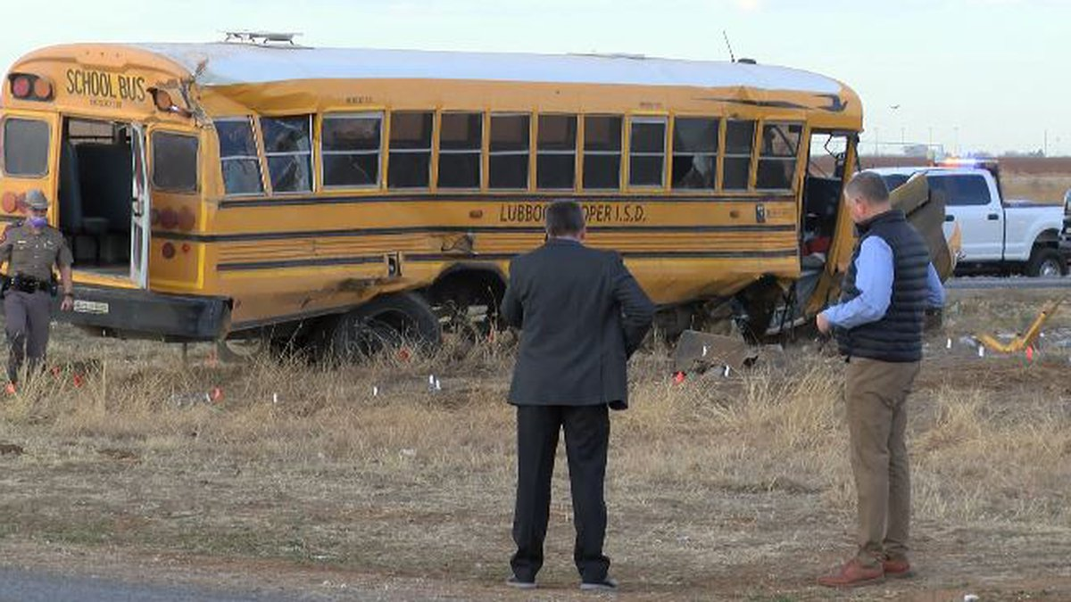 2 elementary students and the school bus driver were seriously injured in the crash. 9 other...
