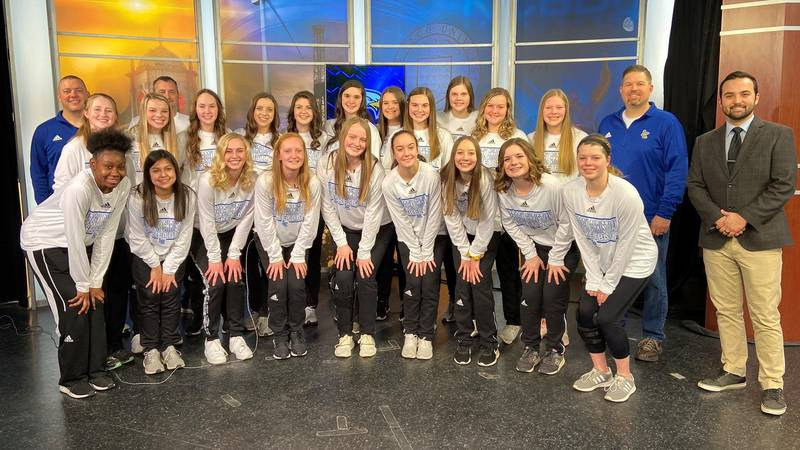 The No. 3 Lubbock Christian Lady Eagles are the Hoop Madness Team of the Week.