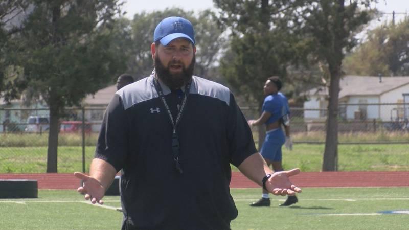 Coach Joe Cluley, Estacado Matadors