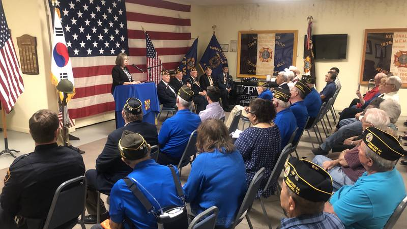 """At the Veterans of Foreign Wars, the Korean American Association presented two """"Ambassador's..."""
