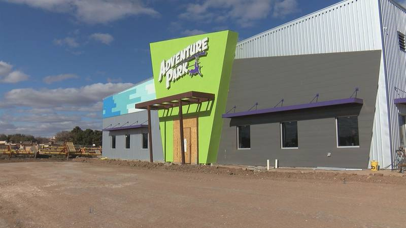 The Director of Operations tells KCBD they hope to open Adventure Park this spring.