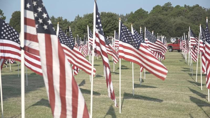 9/11 memorial at Kastman Park