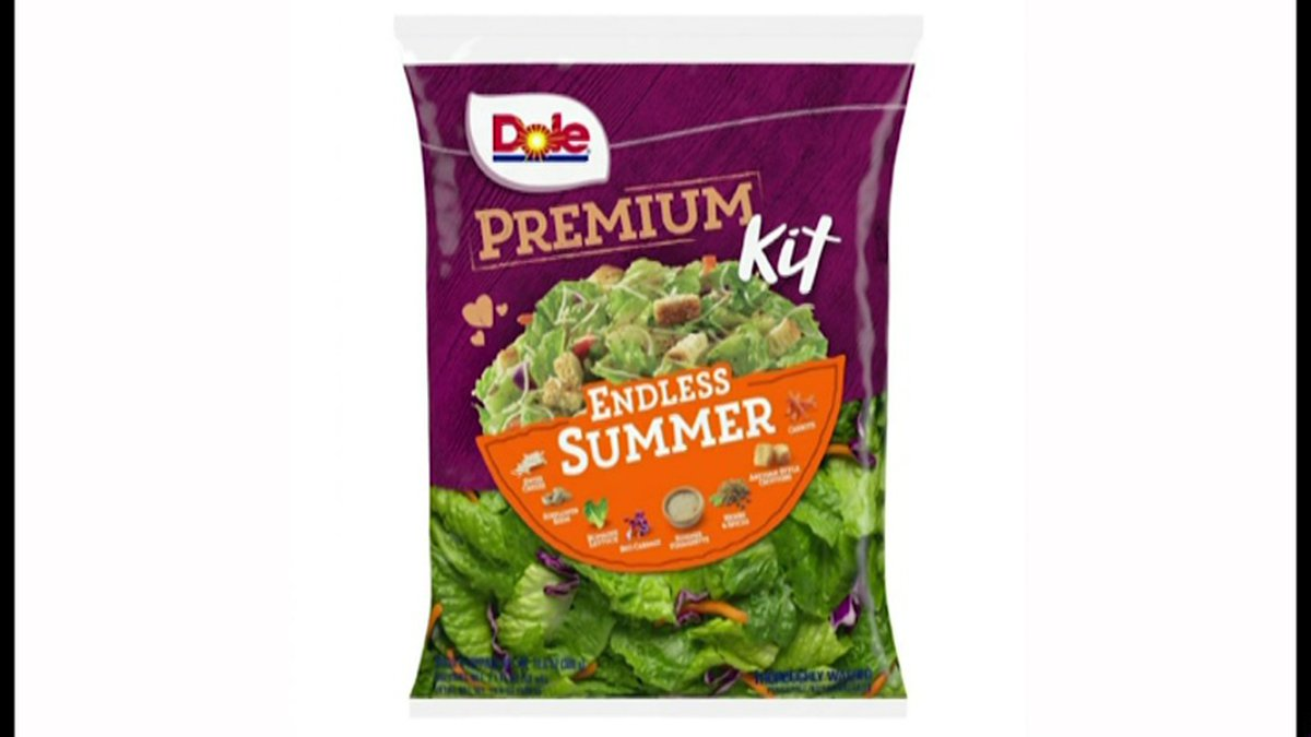 Dole has issued a voluntary recall of its Endless Summer salad kit because it isn't labeled...