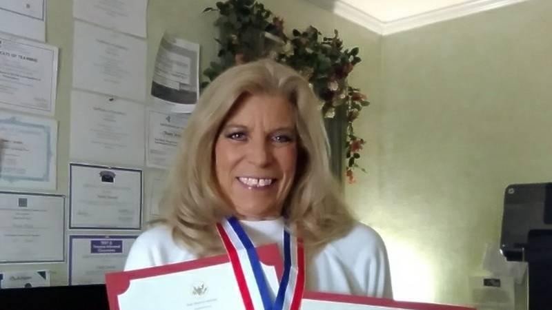 Today President Donald Trump awarded Amarillo Texas volunteer Trinity Dennis the 2020...