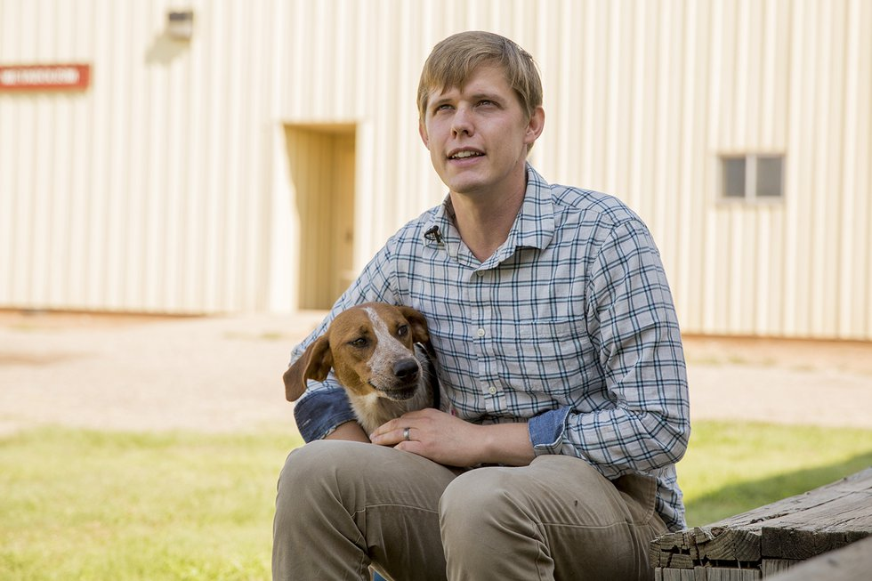 Nathan Hall, Assistant Professor of Companion Animal Science at Texas Tech University.