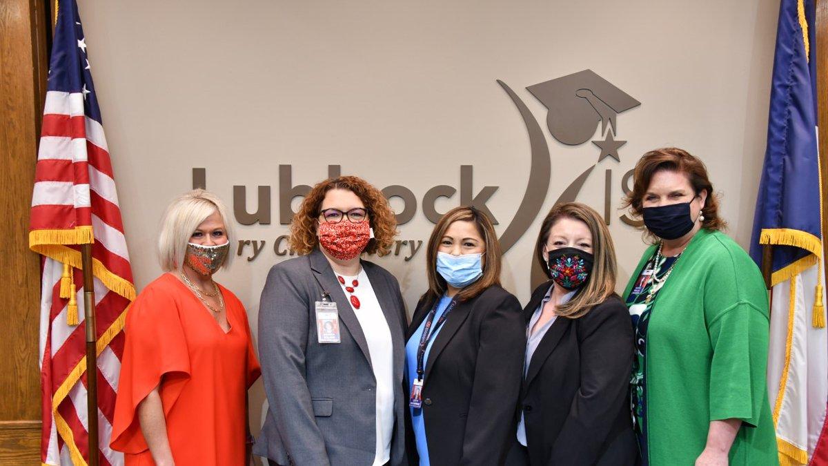 Left to right: Koty Gonzales, Amanda Boland, Leticia Guiterrez, Yvonne Valdez, and Dr. Kathy...