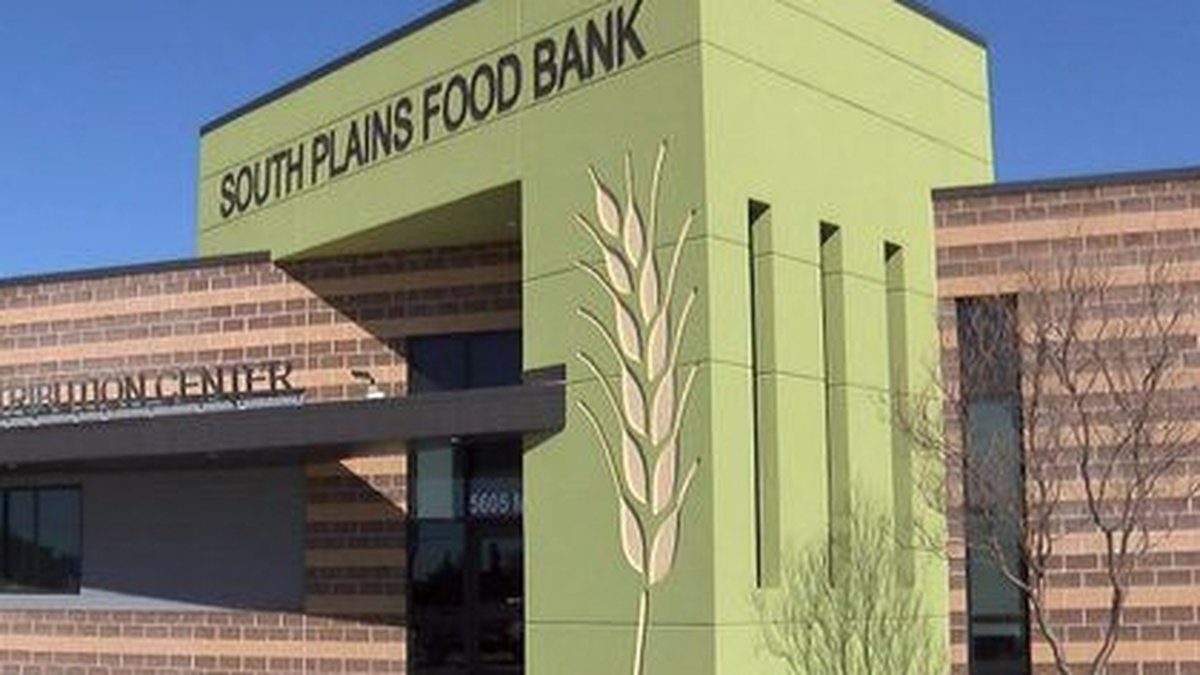 South Plains Food Bank building (Source: KCBD Video)