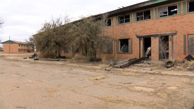 An abandoned apartment complex could be demolished by the City of Lubbock