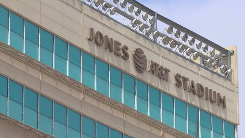 Jones AT&T Stadium (Source: KCBD Video)