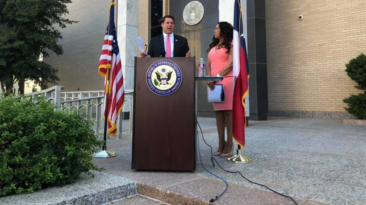 On Aug. 18, at the George H. Mahon Federal Building, Rep. Jodey Arrington (TX-19) announced...