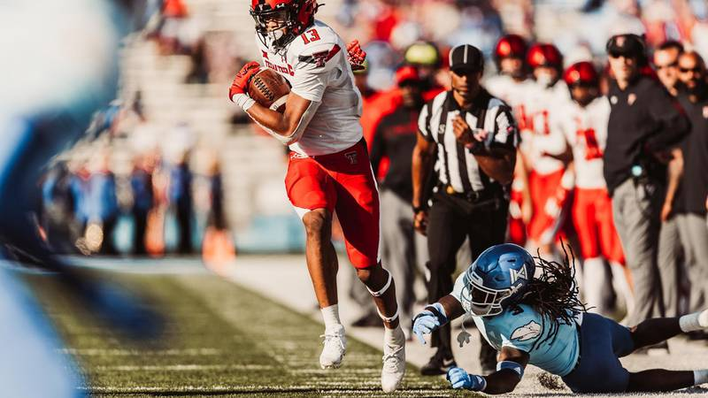 TTU secured its fifth win on the road against Kansas last weekend.
