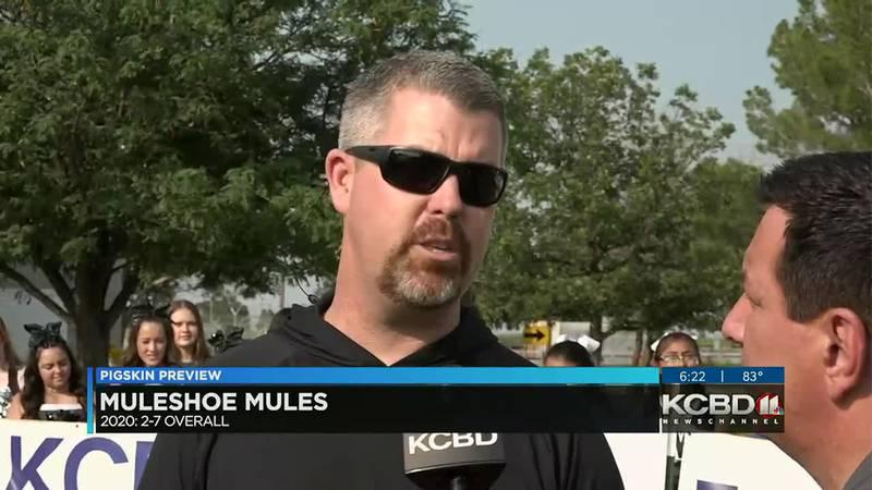 Muleshoe Mules Coach Jason Richards