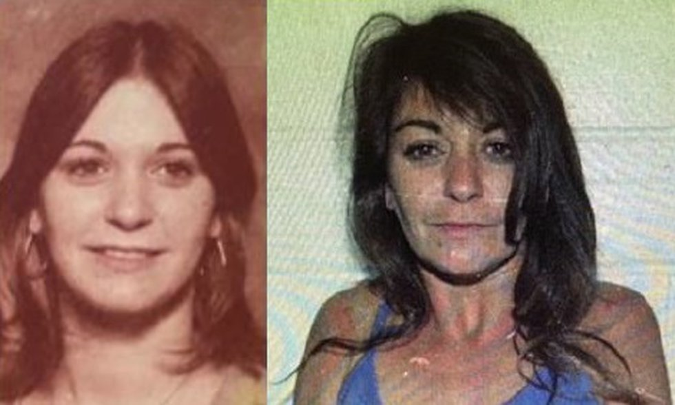 Donna Prudhomme at age 20 and age 29. (Source: League City Police Department)