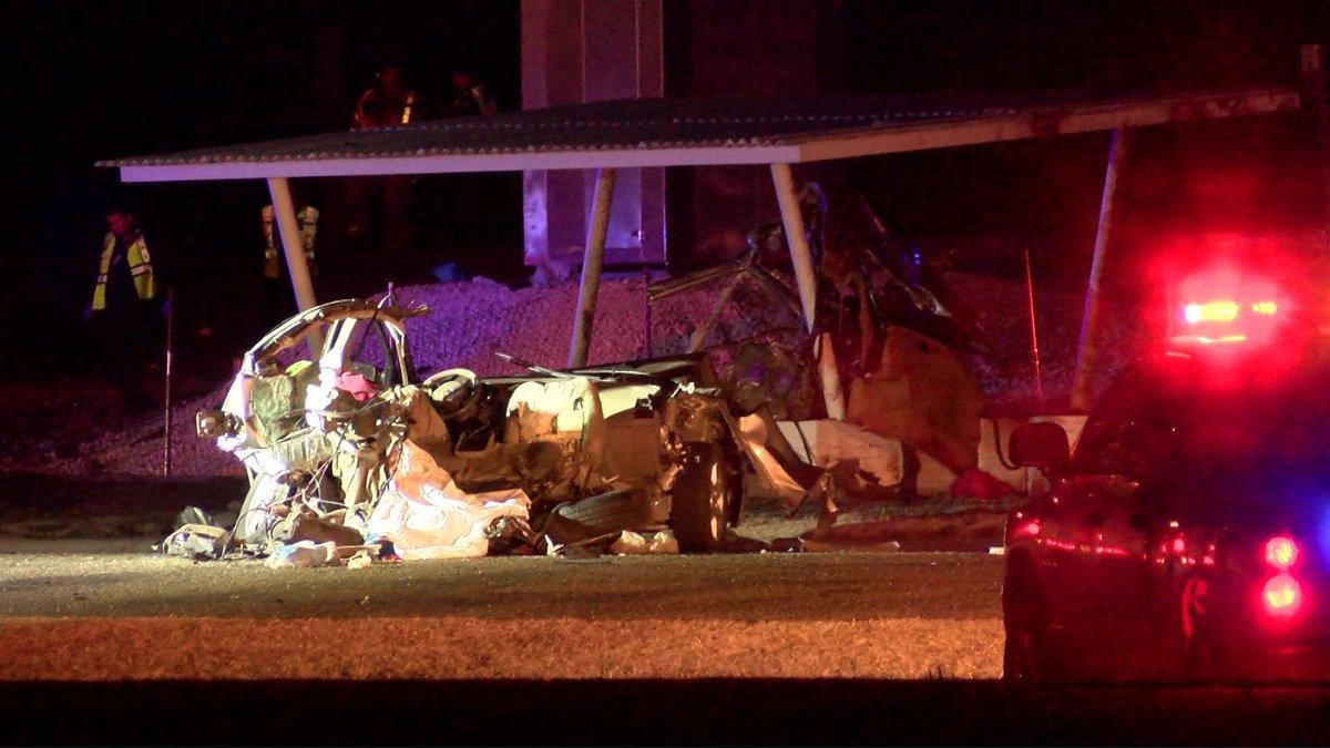Deadly wreck near Shallowater (Source: KCBD Video)