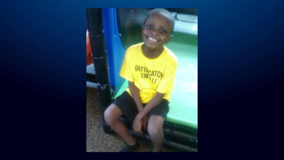 James Rashard Lewis, 10, was allegedly killed by his father in Waco.