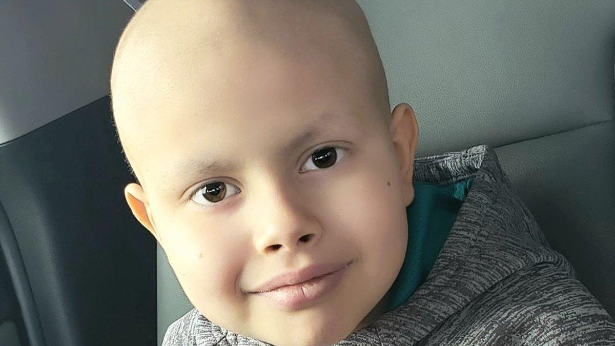 9-year-old Aiden Cuevas