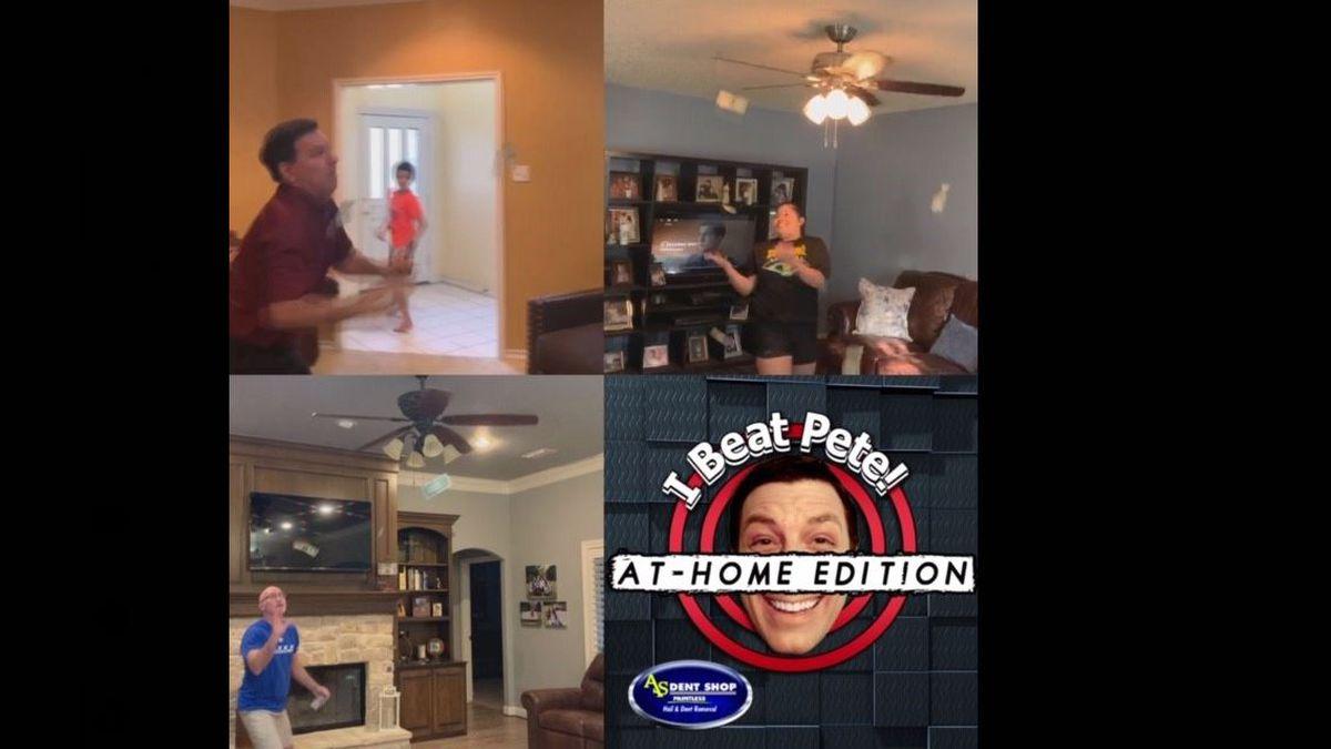 I Beat Pete: At-Home: Ceiling Fan Cash Drop