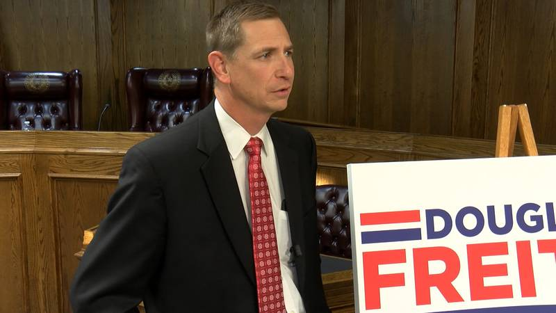 Douglas Freitag joined the race for 140th State District judge on Wednesday.