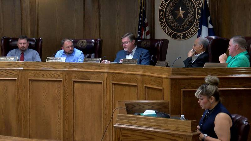 Lubbock County Commissioners discuss ARPA funding