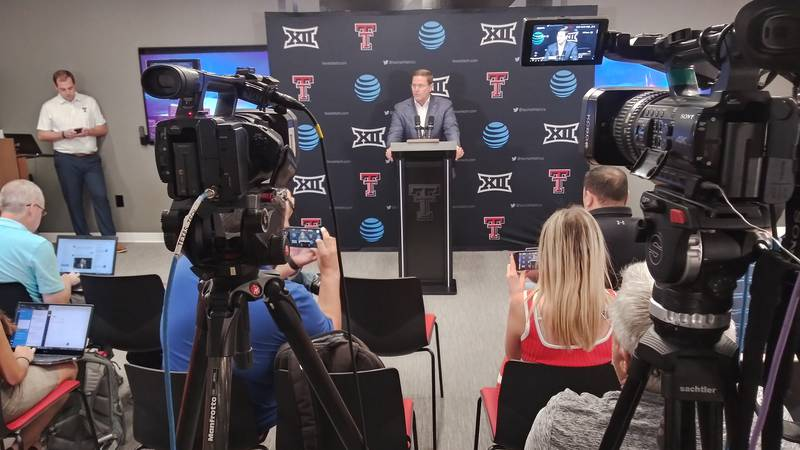 Texas Tech head football coach Matt Wells was fired on Monday morning, in the middle of his 3rd...