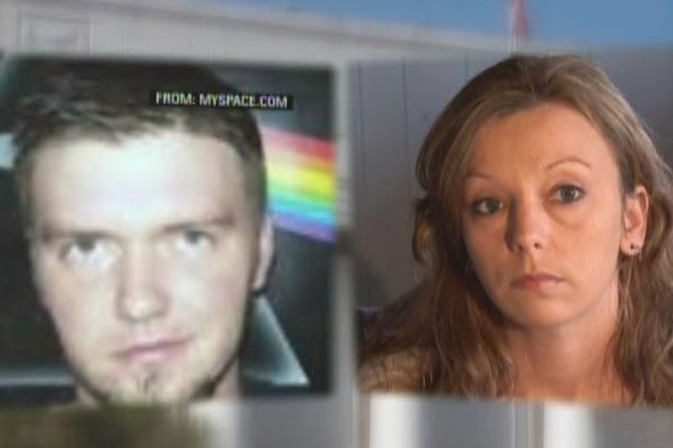 Shawn Adkins, left, image from Myspace; Billie Dunn, right.