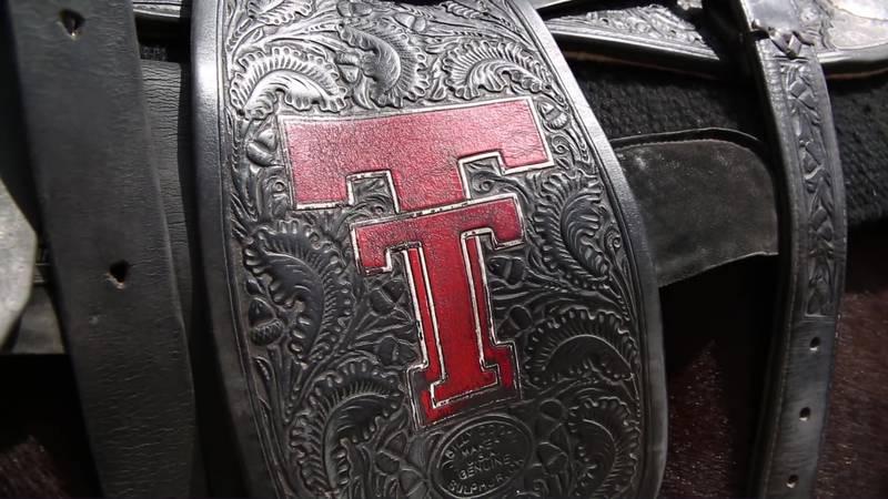 Masked Rider saddlebags (Source: Texas Tech)