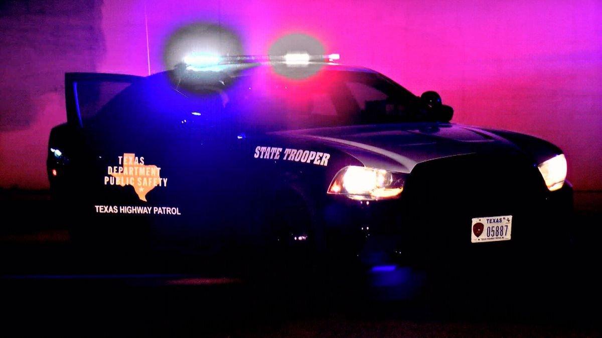 Vehículo de patrulla del Departamento de Seguridad Pública de Texas.