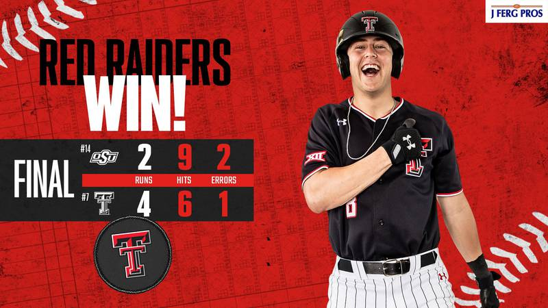 After falling in game one to Oklahoma State, Texas Tech bounced back in game two of the series...