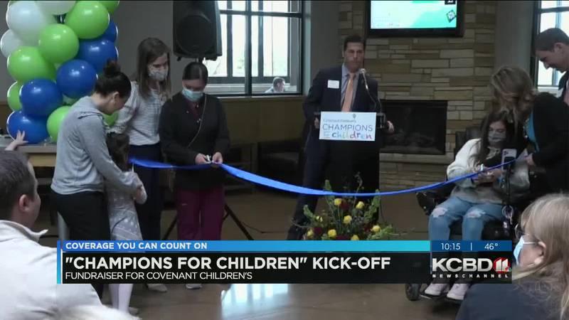 Covenant kicks off Champions for Children campaign