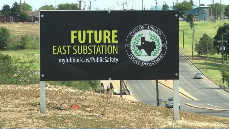 Location marker for LPD East Substation (Source: Facebook)