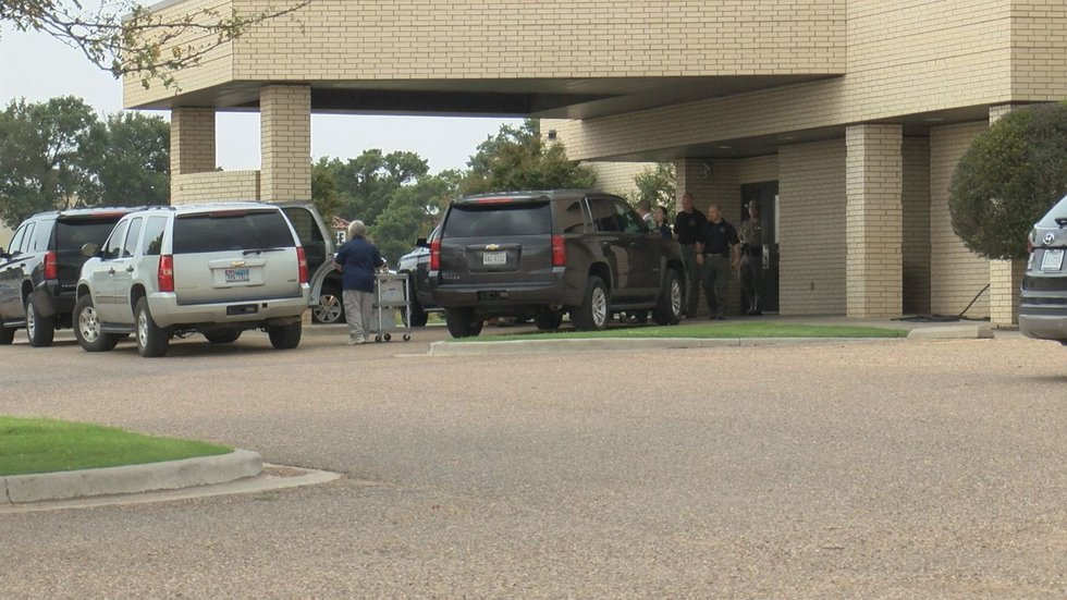 Boxes and documents taken from Lubbock County Medical Examiner's Office